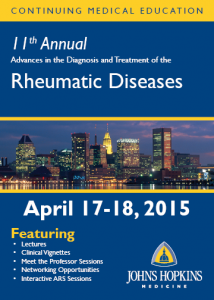 11th Annual Advances in the Diagnosis and Treatment of the Rheumatic Diseases Course