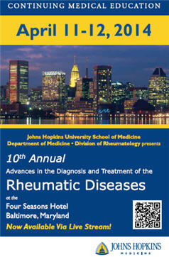 Johns Hopkins 2014 Rheumatology Course