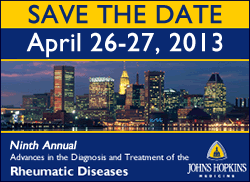9th Annual: Advances in the Diagnosis and Treatment of the Rheumatic Diseases