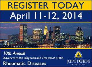 10th Annual: Advances in the Diagnosis and Treatment of the Rheumatic Diseases