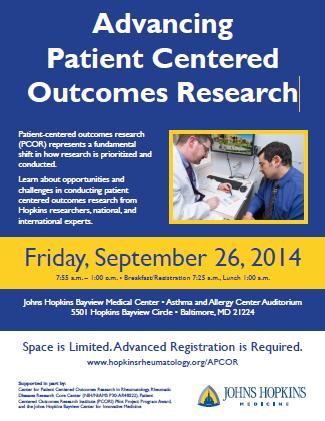 APCOR Agenda • Johns Hopkins Rheumatology