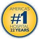 U.S. News and World Report Rankings Badge