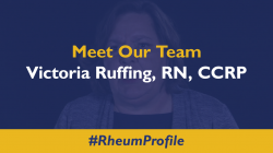 Meet Victoria Ruffing, RN, CCRP