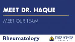 Meet Dr. Haque
