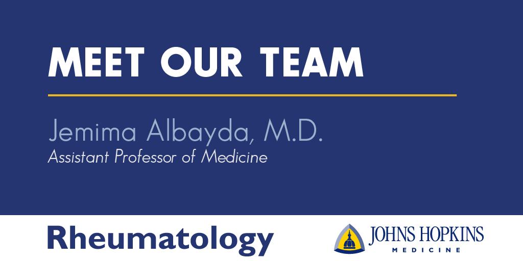Meet Dr. Myma Albayda
