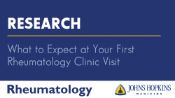 What to Expect at Your First Rheumatology Clinic Visit