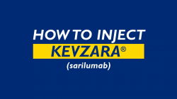 How To Inject Kevzara (sarilumab)