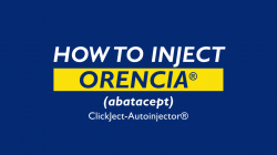 How to Inject Orencia ClickJect-Autoinjector (abatacept)