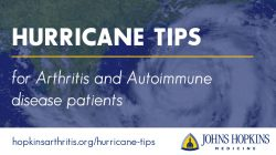 Tips to Prepare for a Hurricane for Arthritis and Autoimmune Disease Patients