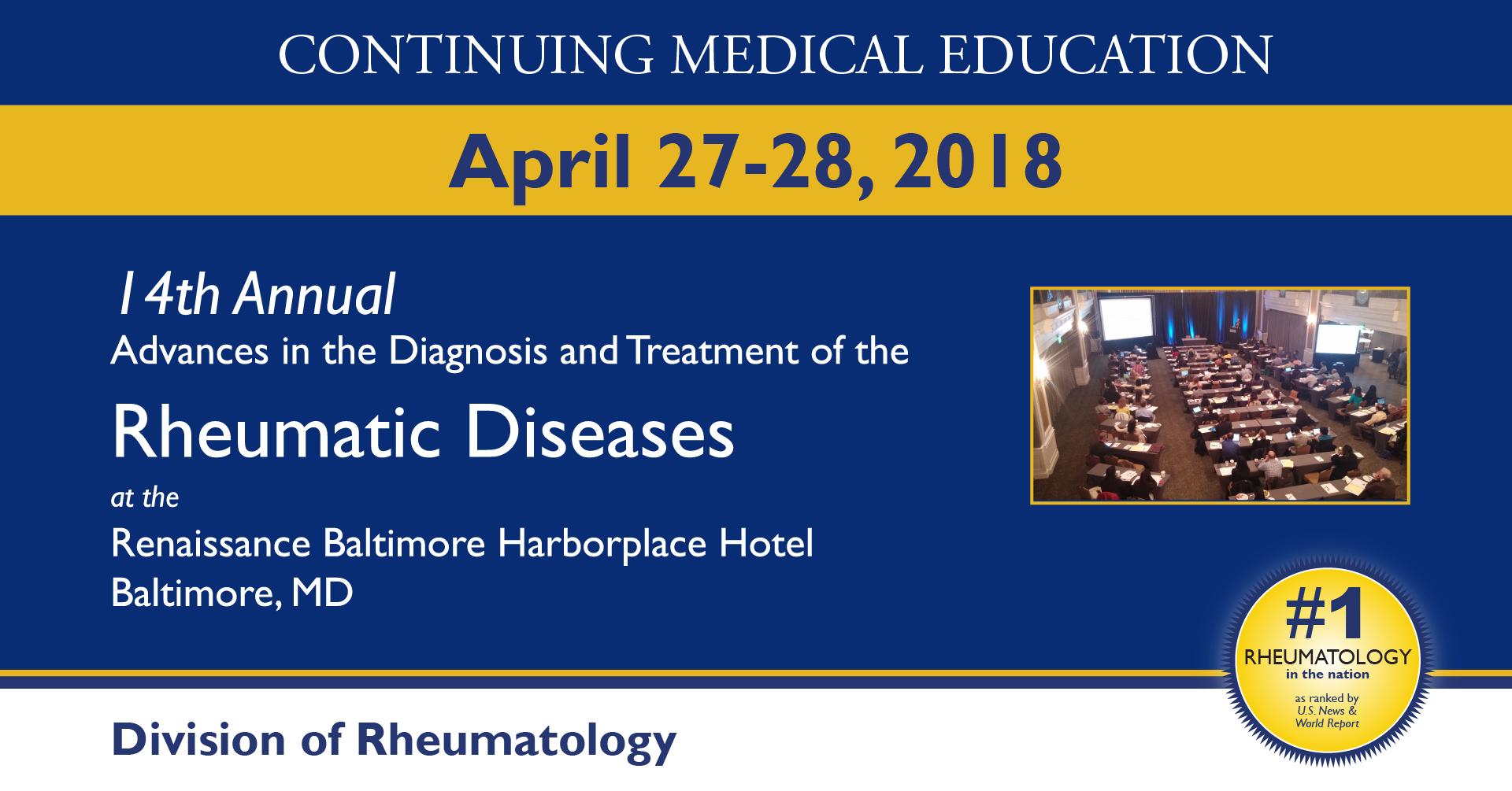 Rheumatology Conference 2019