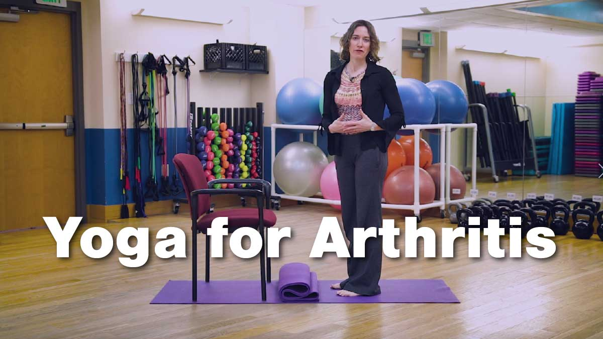 Yoga for Arthritis - Modifying Yoga Poses for Arthritis Patients