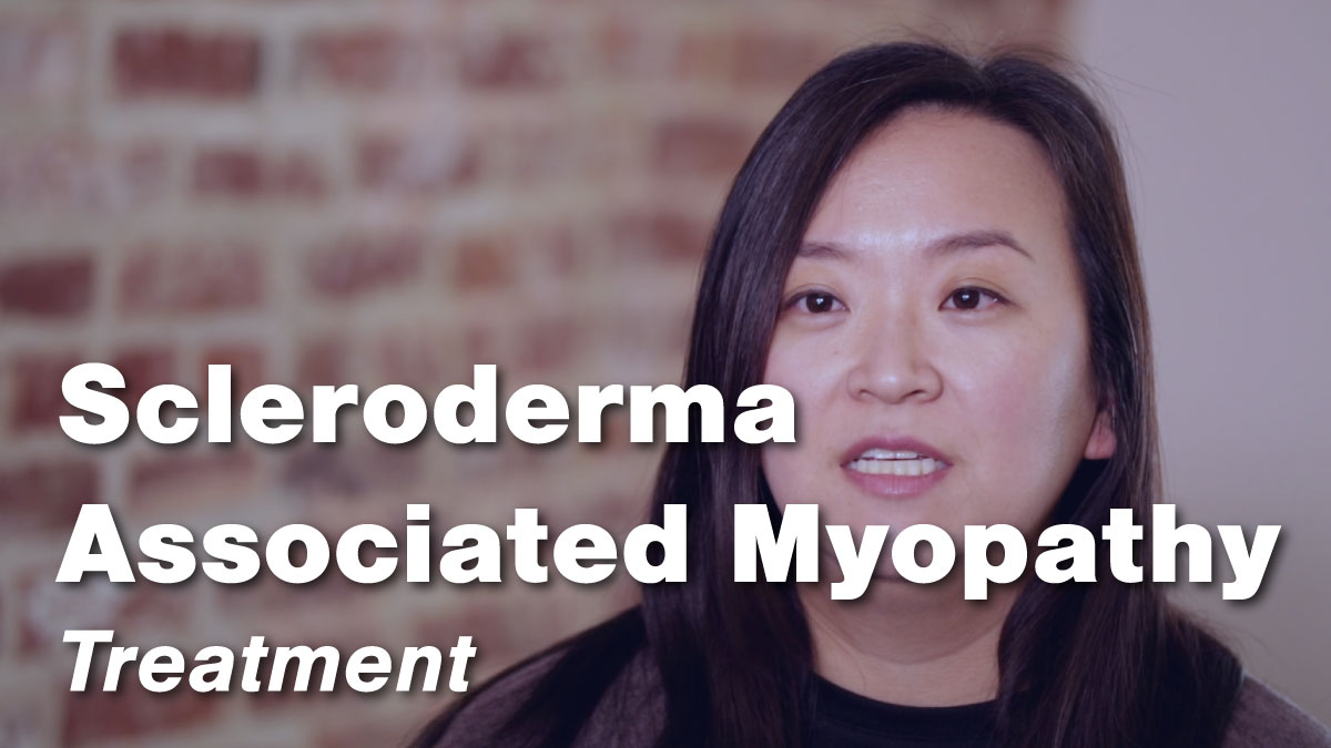 Scleroderma Associated Myopathy – Treatment
