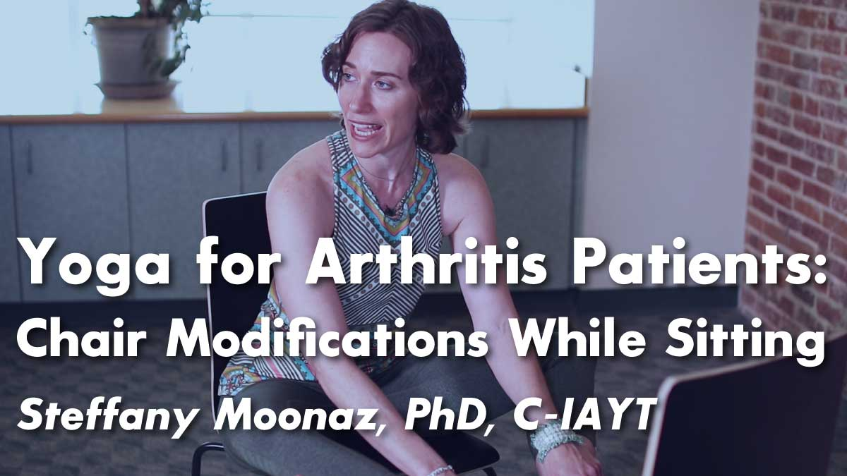 Yoga for Arthritis : Seated Yoga Postures