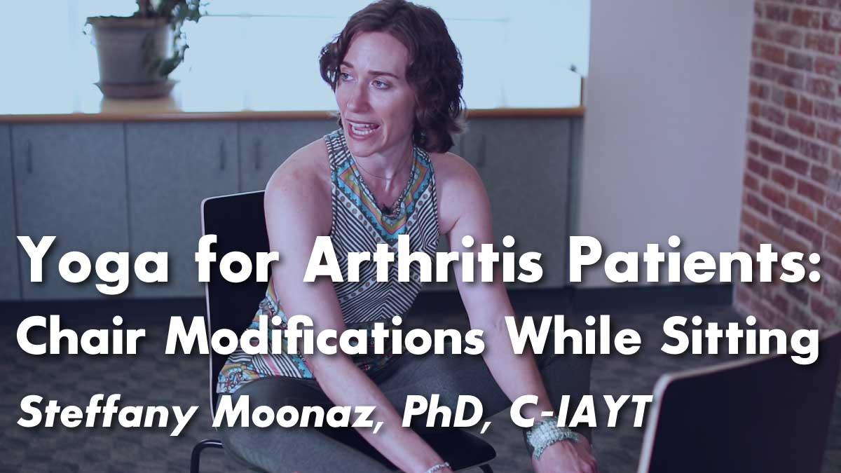 Yoga for Arthritis : Seated Yoga Postures