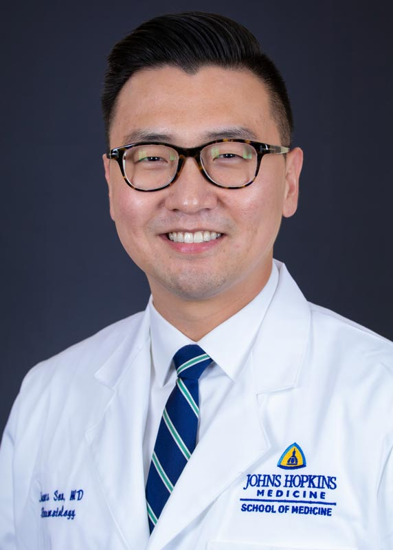 Johns Hopkins Rheumatology Fellow James Son, MD