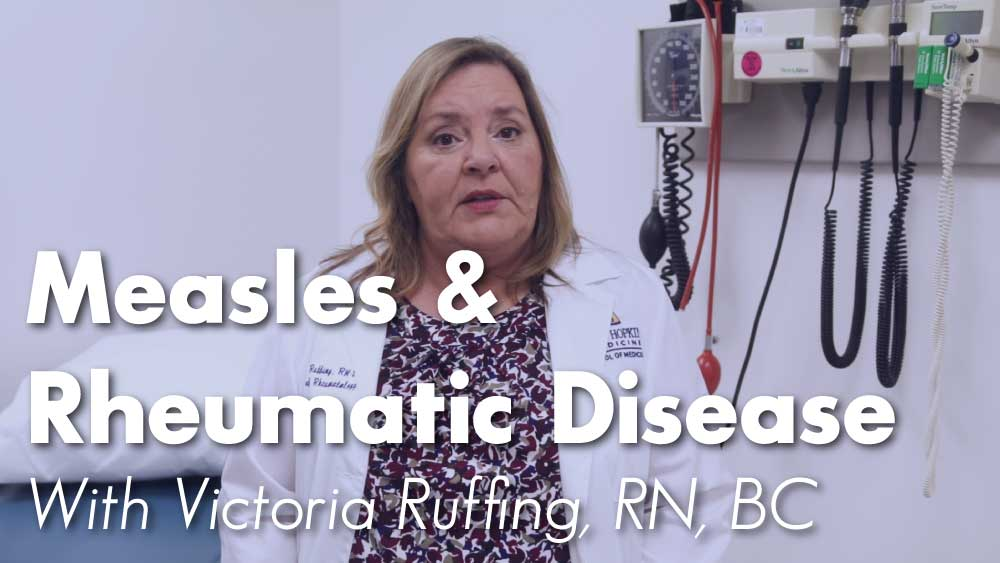 All You Need To Know About Measles and It's Effects on Patients with Rheumatic Disease